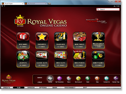 Royal Vegas Full Casino Suite Download
