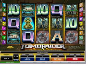 Tomb Raider online slot