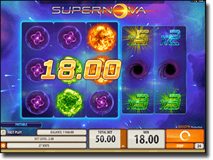 Supernova Fun Online Video Pokie
