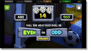 Under the Bed Mobile Gamble Feature