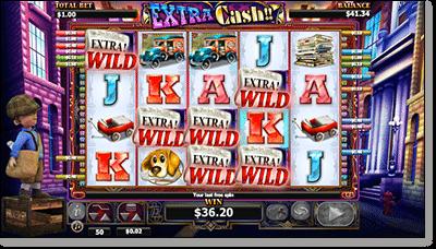 Extra Cash Wild Features