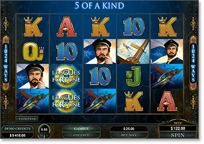 Leagues of Fortune 1024 Ways Pokie