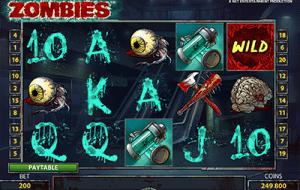 Zombies pokies