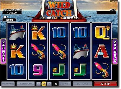 Play Wild Catch online pokies for real money