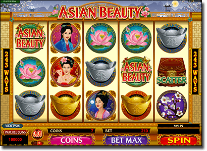 Play Asian Beauty online video slot