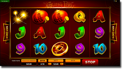 Gung Pow video slot