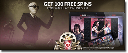 Play Dracula online slots at Guts Casino