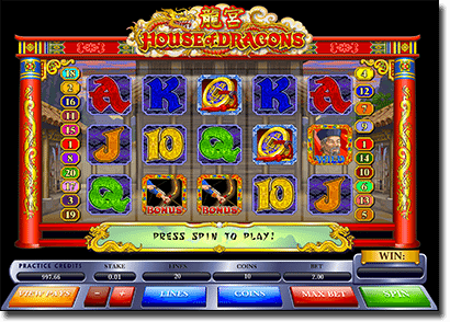 House of Dragons - Chinese themed online pokies