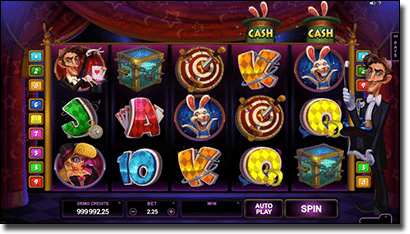 Play Rabbit in the Hat video slots online