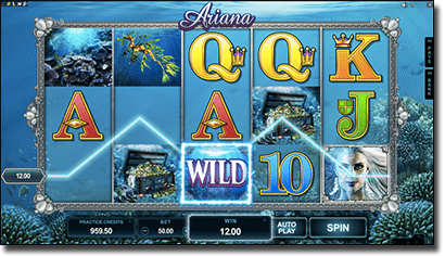 Play Ariana online pokies for real money