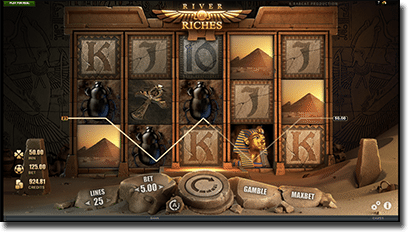 Play River of Riches video slot