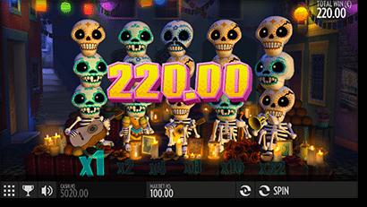 Esqueleto Explosivo online pokies