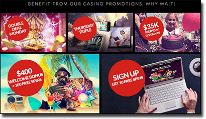 Guts Casino weekly promotions