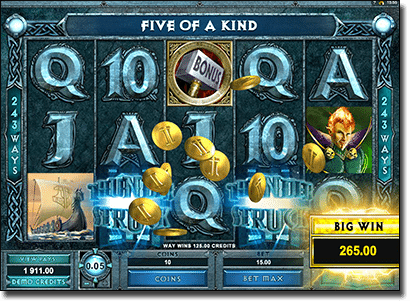 Thunderstruck II online slots