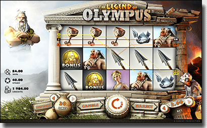 The Legend of Olympus online pokies
