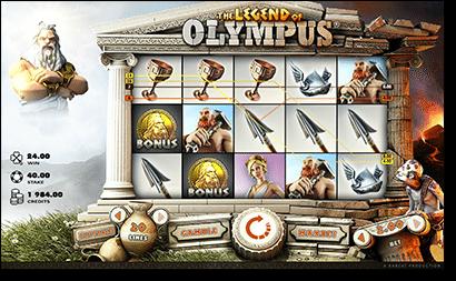 The Legend of Olympus online pokies