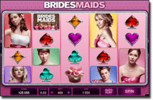 Bridesmaids pokies game based on 2011 film