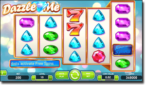 Dazzle Me real money AUD pokies