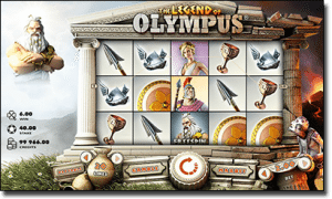 Legend of Olympus online video slots