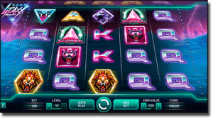 Neon Staxx pokies by Net Entertainment