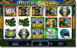 Rugby Star - new online sports pokies