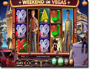 Weekend in Vegas online pokies for real money