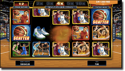 Play Basketball Star pokies