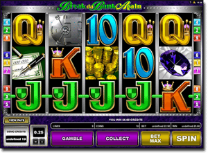 Break Da Bank Again online pokies by Microgaming
