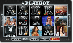 Playboy video pokies by Microgaming