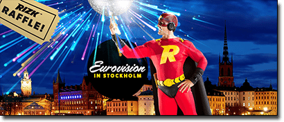 Win a trip to Eurovision 2016 with Rizk.com