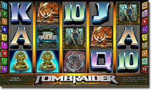 Tomb Raider online pokies by Microgaming