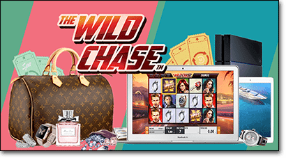 Wild Chase pokies promotion at Guts.com