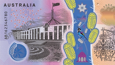 New AUD $5 note