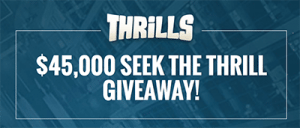 Seek the Thrill promo