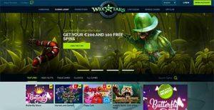 Wixstars online pokies site