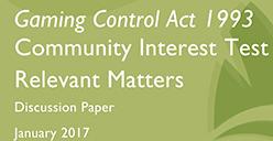 Community interest pokies reform