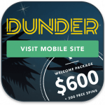Dunder mobile pokies
