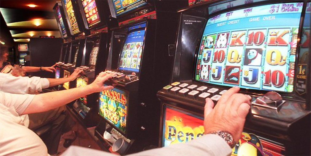 Pokie machines VIC