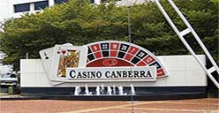 Pokies in Canberra Casino