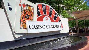 Canberra Casino poker machines