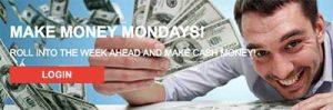 Casino-Mate Monday bonus