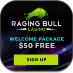 Raging Bull mobile pokies