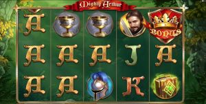 Mighty Arthur pokies screenshot