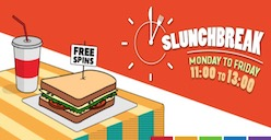 Slunchbreak free spins at Slots Million