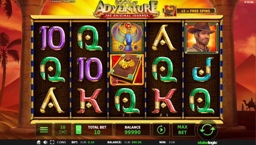 Book of Adventure Online Slot