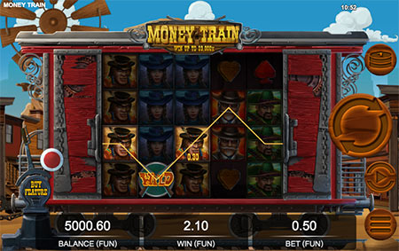 Money Train pokies game