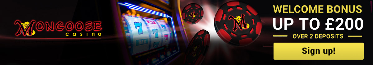 PLay Pokies at Mongoose Casino