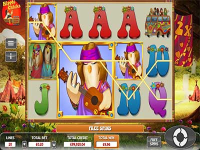Hippie Chicks - top slot for aussies