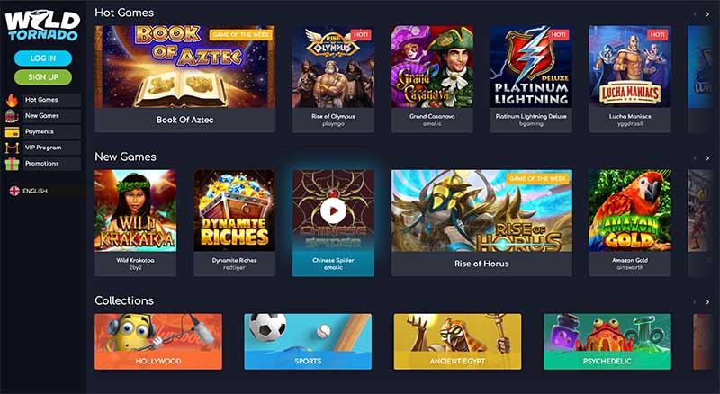 Wild Tornado Casino games